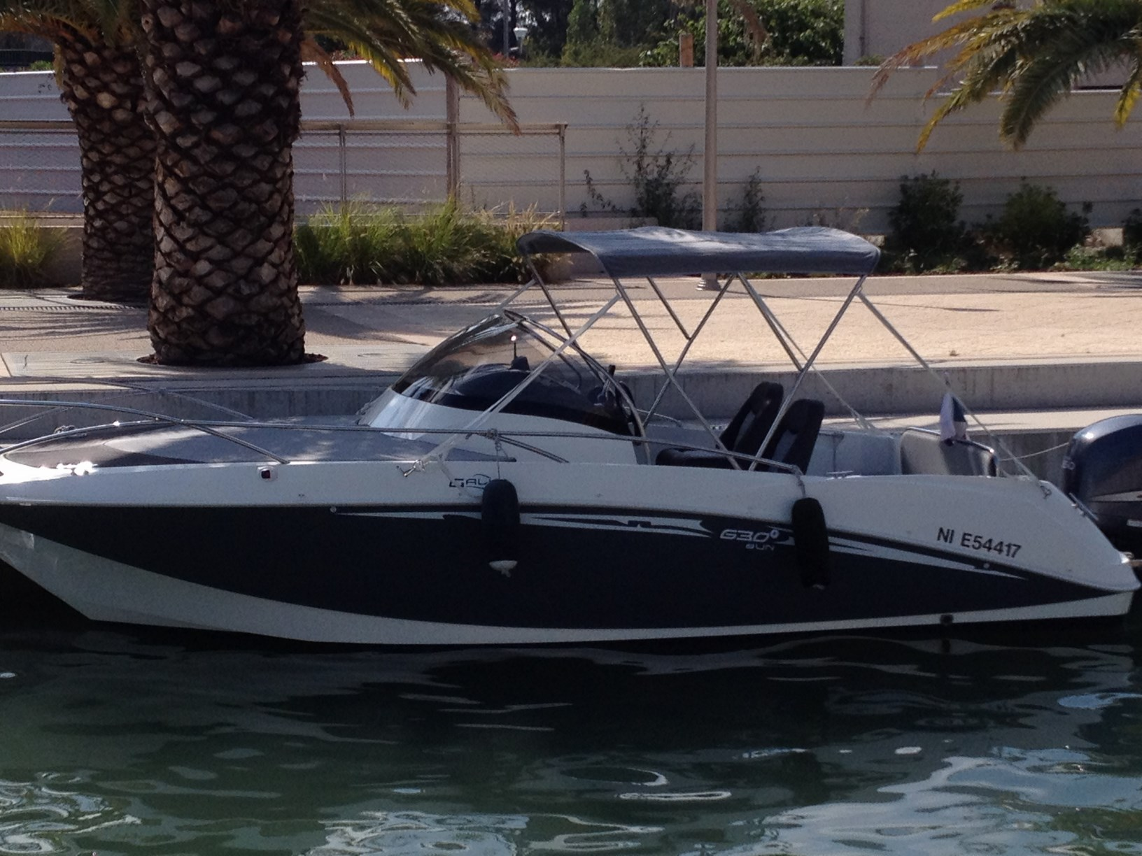 bateau moteur 2012 galia 630 sundeck