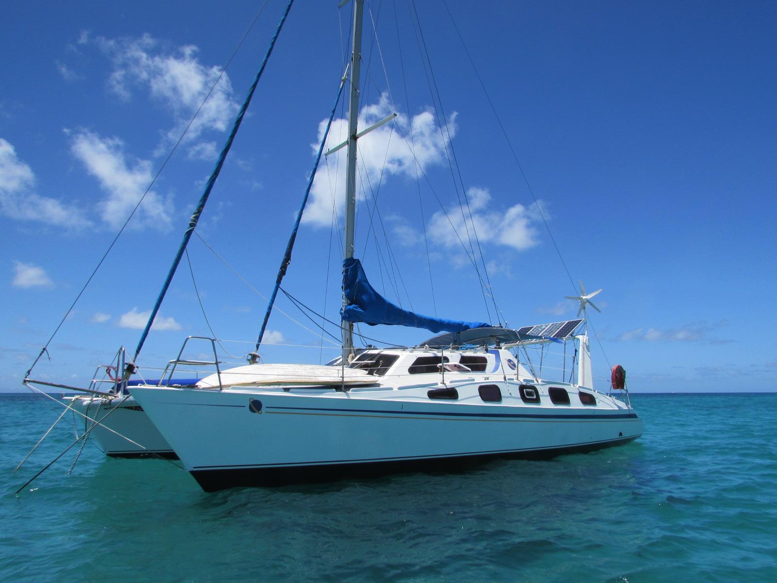 catamaran 40 pieds tonga tora