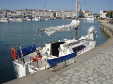 Vends voilier Kelt 7,60 dériveur lesté