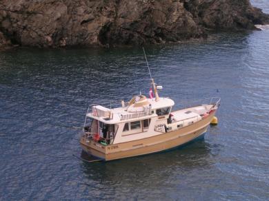 a vendre trawler 38 pieds