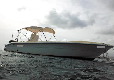 bateau à moteur 26 pieds