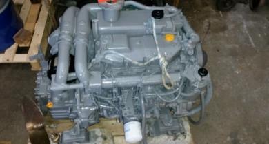 Moteur Yanmar in board diesel 110 cv