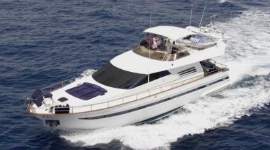 Superbe yacht de 21 m 4 cabine en copropriete rendement 10%
