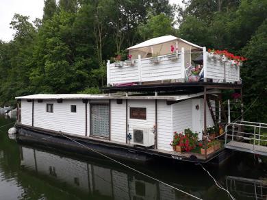 maison flottante house boat