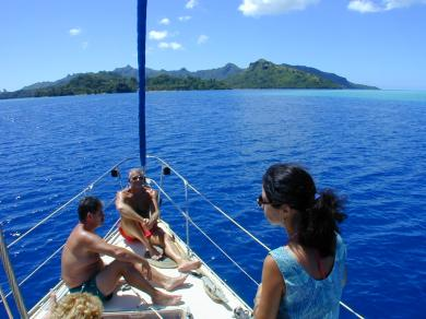 Location Voilier Huahine Day Charter