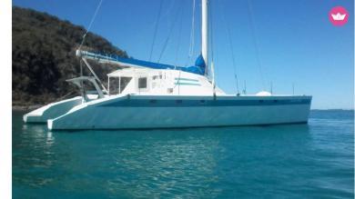 Croisière en catamaran Martinique et Antilles avec skipper et hôtesse