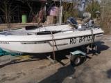 bateau jeanneau + remorque + moteur Tbe
