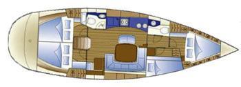 Cède voilier Bavaria 44