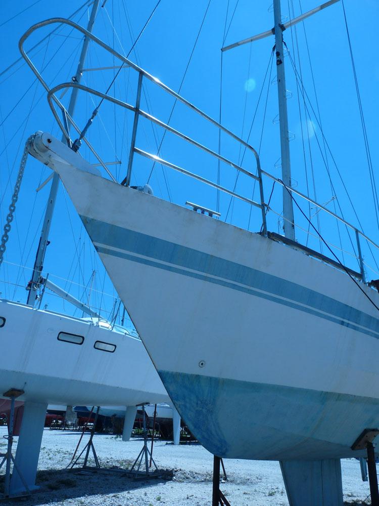 voilier acier - albion 36