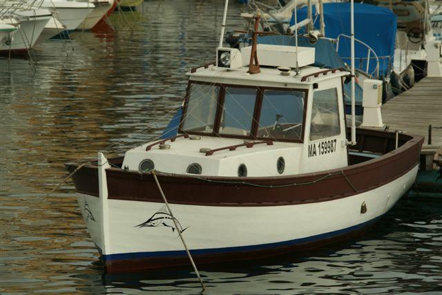 bateau de peche timonier